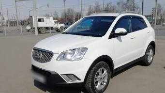 SsangYong Actyon II 2.0d AT (149 л.с.) 4WD [2012] в Балашихе